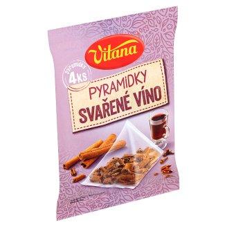 Vitana Mulled Wine Pyramids of Spices 4 x 5g