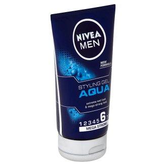 Nivea Men Aqua Gel na vlasy s mokrým efektem 150ml