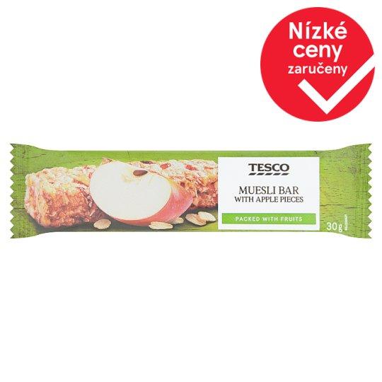 Tesco Muesli Bar with Apple Pieces 30g