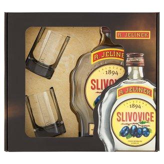 R. Jelínek Plum 0.5L + 2 Glasses