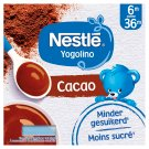 Nestlé Yogolino Baby DessertChocolate 4 x 100g