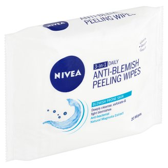 Nivea Anti-Blemish Peeling Wipes 3 in 1 20 pcs