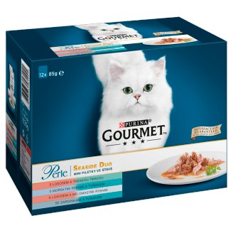 GOURMET Perle DUO Multipack - Fish Duo 12 x 85g