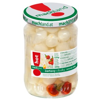 Machland Devil Onions 520g