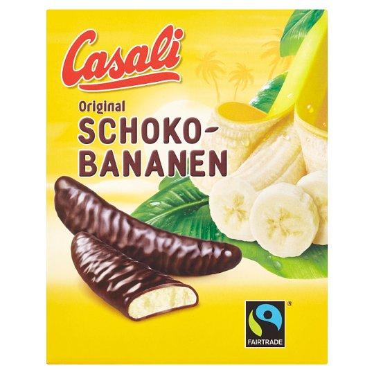 Casali Pěnová cukrovinka s banánovou dření máčená v čokoládě 150g