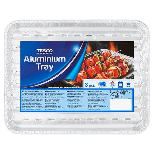 Tesco Aluminium Tray 3 pcs