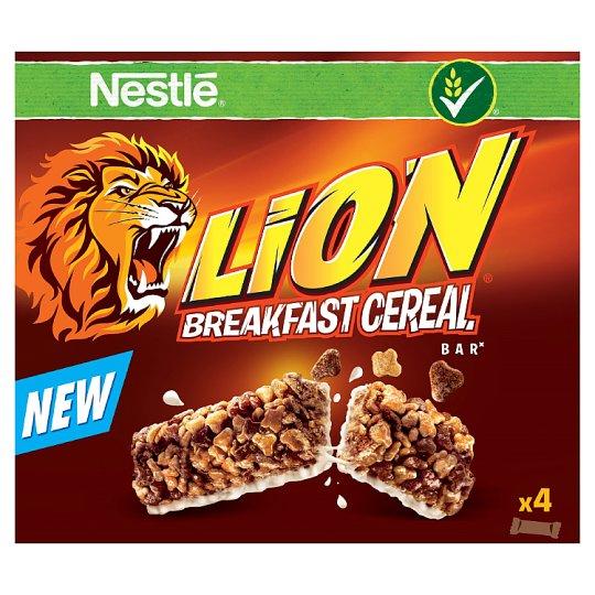 NESTLÉ LION Breakfast Cereal Bar 4 x 25g