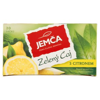 Jemča Green Tea Lemon 20 x 1.5g