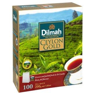 Dilmah Ceylon Gold pravý černý cejlonský čaj 100 sáčků 200g