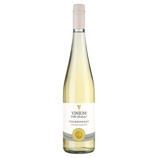 Vinium Sélection Chardonnay víno bílé polosuché 0,75l