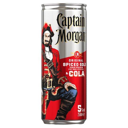 Captain Morgan & Cola 250ml