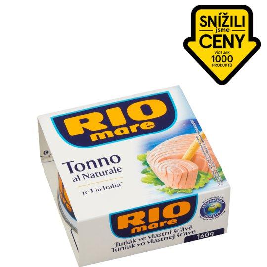 Rio Mare Tuna in Own Juice 160g