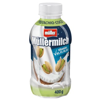 Müller Müllermilch Milk Drink with Pistachios-Coconut Flavor 400g
