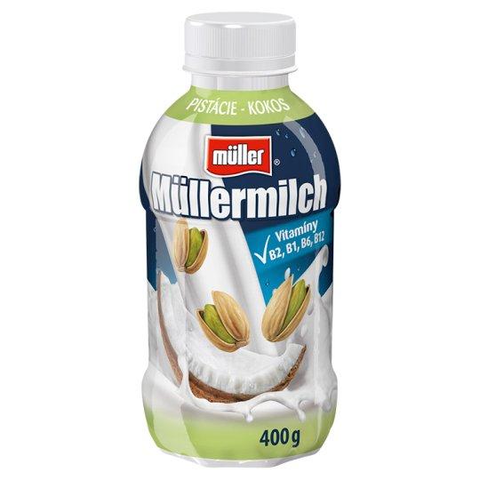 Müller Müllermilch with Pistachios-Coconut Flavor 400g