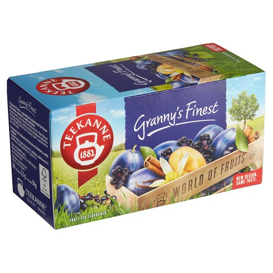 TEEKANNE Granny's Finest, World of Fruits, 20 sáčků, 50g