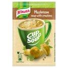 Knorr Cup a Soup Hříbková instantní polévka s krutony 15g