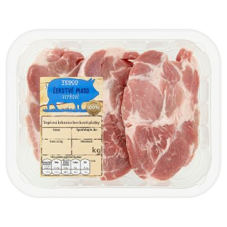 Tesco Fresh Pork Neck Boneless Slices 0.4kg