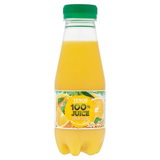 Tesco 100% Juice Orange 300ml
