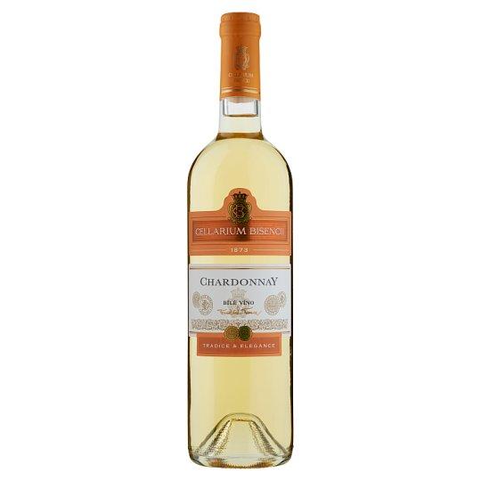 Zámecké Vinařství Bzenec Cellarium Bisencii Chardonnay White Semi Dry Wine 0.75L