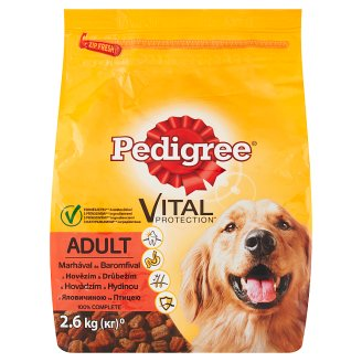 Vital Protection Pedigree Adult with Beef and Chicken 2.6kg