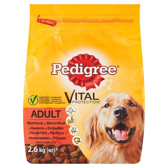pedigree vital protection adult s hov z m a dr be m 2 6kg tesco potraviny. Black Bedroom Furniture Sets. Home Design Ideas