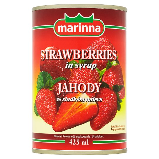 marinna Strawberries in Syrup 410g