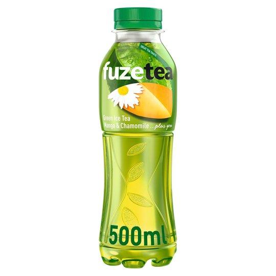 FuzeTea Mango Chamomile zelený ledový čaj 500ml