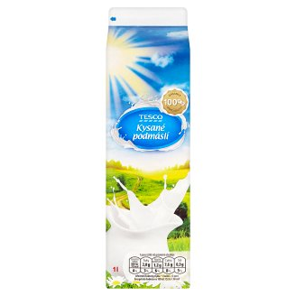 Tesco Fermented Buttermilk 1L
