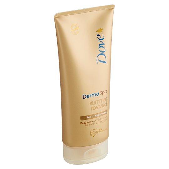 Dove Derma Spa Summer Revived tónovací tělové mléko 200ml