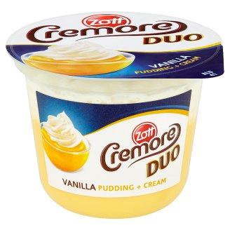 Zott Cremore Duo vanilkový puding se šlehačkou 200g