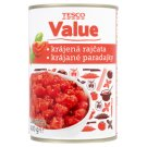 Tesco Value Cut Tomatoes 400g