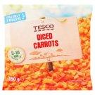 Tesco Carrots Sliced 450g
