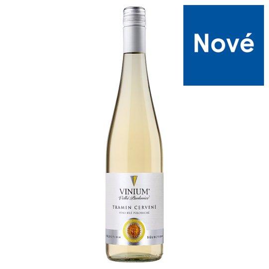 Vinium Sélection Tramin Red Semi Dry White Wine 0.75L