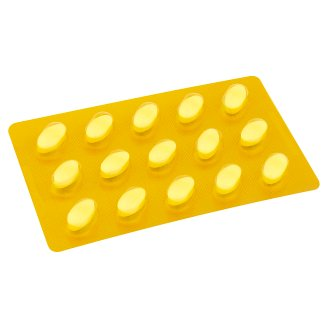 eMVe Vitamin C 180mg s příchutí citronu 15 tablet 11,4g
