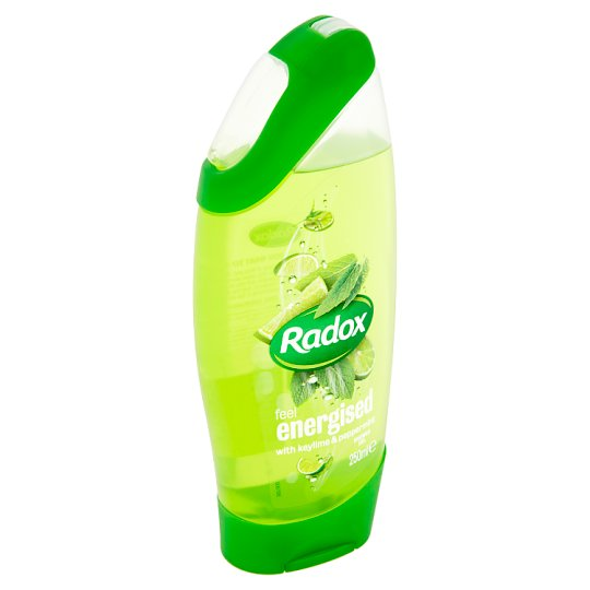 Radox Feel Energised Keylime & Peppermint Shower Gel 250ml