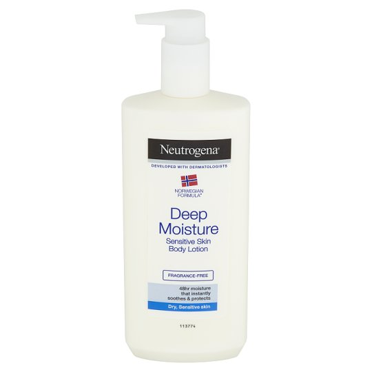 Neutrogena Deep Moisturizing Body Lotion for Sensitive Skin 400ml