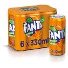 Fanta Orange 6 x 330ml