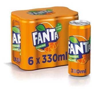 Fanta Pomeranč 6 x 330ml