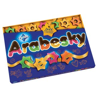 ORION Arabesques Half-Coated Jelly 400g