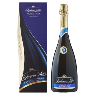 Bohemia Sekt Prestige Brut method classic jakostní šumivé víno bílé 0,75l