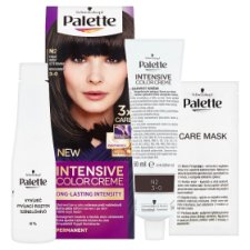 image 2 of Schwarzkopf Palette Intensive Color Creme Hair Color Dark Brown N2