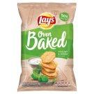 Lay's Pečené bramborové lupínky s příchutí jogurtu a bylinek 65g