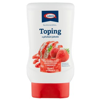 Labeta Topping with Strawberry Flavour 200g