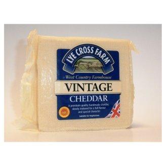 Lye Cross Farm Vintage Cheddar 200g