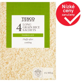 Tesco Long Grain Rice 400g