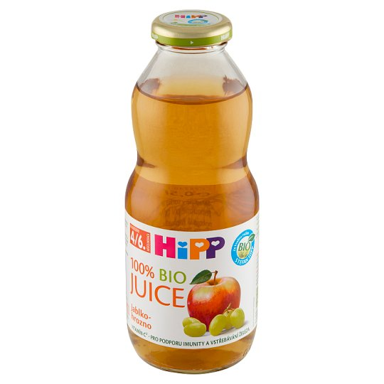 HiPP Organic Apple-Grape Juice 0.5L