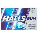 Halls Ice Rush žvýkačka bez cukru s mátovou příchutí 18g