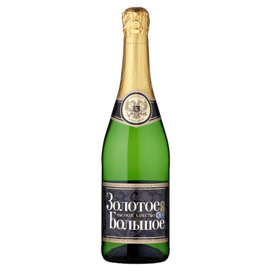 Zolotoe Bolšoe alkoholický nápoj sycený 0,75l