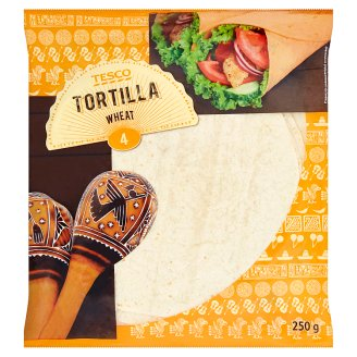 Tesco Tortilla 4 x 62,5g