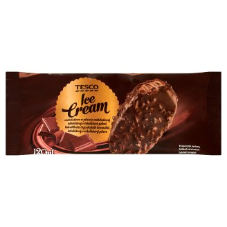 Tesco Chocolate Ice Cream with Chocolate Glaze 120ml